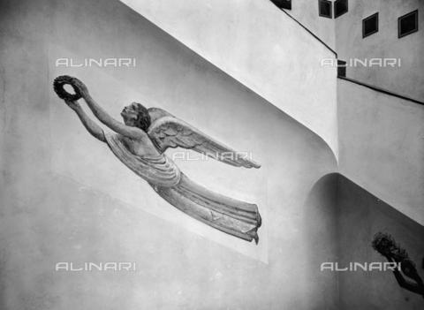 FVQ-F-099574-0000 - Decorazione della scalinata, Ufficio Poste e Telegrafi di Gorizia - Data dello scatto: 1932 - Archivi Alinari, Firenze