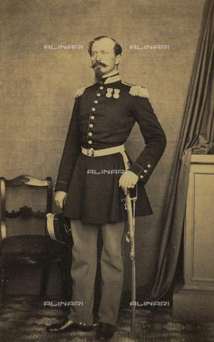 FVQ-F-107623-0000 - Portrait of the Colonel Vittorio Scaletta - Date of photography: 1870 ca. - Fratelli Alinari Museum Collections, Florence