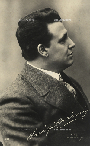 FVQ-F-108340-0000 - Portrait of the actor Luigi Carini - Date of photography: 1920-1930 - Fratelli Alinari Museum Collections, Florence