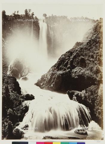 FVQ-F-109547-0000 - La cascata delle Marmore a Terni - Data dello scatto: 1865 ca. - Raccolte Museali Fratelli Alinari (RMFA), Firenze