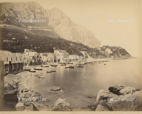 FVQ-F-119069-0000 - View of Capri - Data dello scatto: 1870-1880 - Archivi Alinari, Firenze