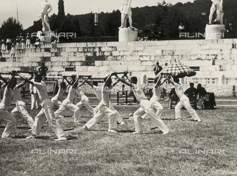 FVQ-F-119121-0000 - the Foro Mussolini, Rome, Lazio