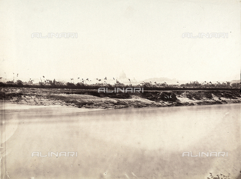 FVQ-F-141071-0000 - Rome seen from Molle Bridge - Data dello scatto: 1855-1860 - Archivi Alinari, Firenze