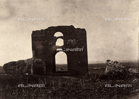 FVQ-F-141076-0000 - Rovine nei dintorni di Roma - Data dello scatto: 1855-1860 - Archivi Alinari, Firenze