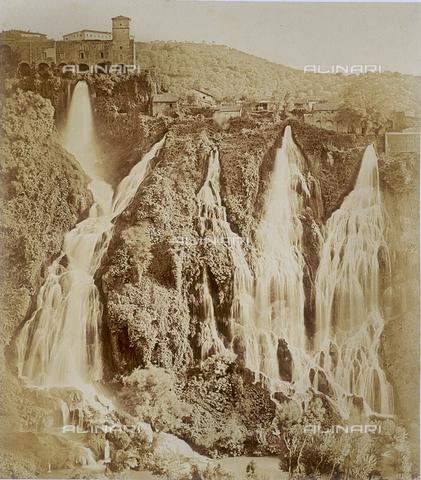 FVQ-F-141109-0000 - Le Piccole Cascate dell'Anio a Tivoli - Data dello scatto: 1855 ca. - Raccolte Museali Fratelli Alinari (RMFA), Firenze