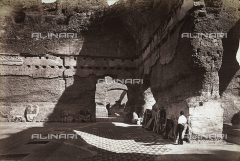 FVQ-F-147432-0000 - Caracalla Thermal Baths, Rome - Data dello scatto: 1890 ca. - Archivi Alinari, Firenze