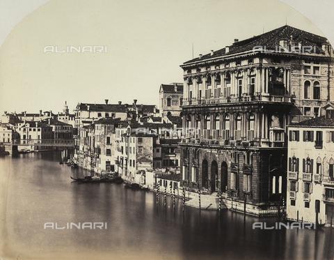 FVQ-F-147832-0000 - Palaces on the Canal Grande, Venice - Data dello scatto: 1855 ca. - Archivi Alinari, Firenze