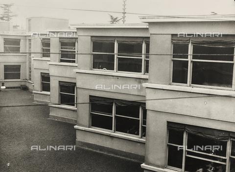 FVQ-F-149488-0000 - Elementary schools Giovanni Berta, Leccothe: outside view - Data dello scatto: 1930-1940 - Archivi Alinari, Firenze