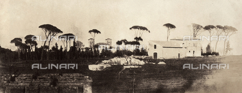 FVQ-F-149987-0000 - Parco nella periferia di Roma - Data dello scatto: 1852-1854 - Raccolte Museali Fratelli Alinari (RMFA), Firenze