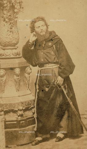 FVQ-F-150261-0000 - Portrait of the friar Giovanni Pantaleo (1831-1879), Giuseppe Garibaldi's Chaplain - Data dello scatto: 1859 ca. - Archivi Alinari, Firenze