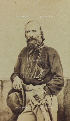 FVQ-F-150262-0000 - The Italian general and statesman Giuseppe Garibaldi (1807-1882); carte de visite - Data dello scatto: 1860-1870 - Archivi Alinari, Firenze