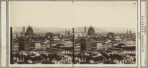 FVQ-F-157853-0000 - Panorama of Florence - Date of photography: 1860 ca. - Fratelli Alinari Museum Collections, Florence