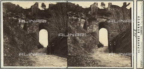 FVQ-F-157856-0000 - Landscape on the outskirts of Naples - Date of photography: 1860 ca. - Fratelli Alinari Museum Collections, Florence