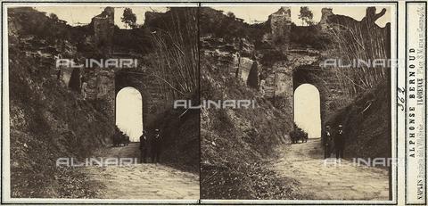 FVQ-F-157856-0000 - Paesaggio nei dintorni di Napoli - Data dello scatto: 1860 ca. - Raccolte Museali Fratelli Alinari (RMFA), Firenze