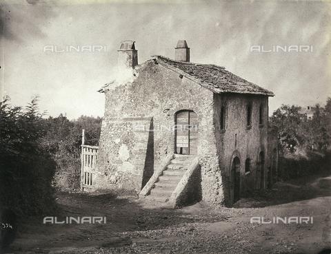 FVQ-F-158678-0000 - Casale nella campagna romana - Data dello scatto: 1865 ca. - Raccolte Museali Fratelli Alinari (RMFA), Firenze