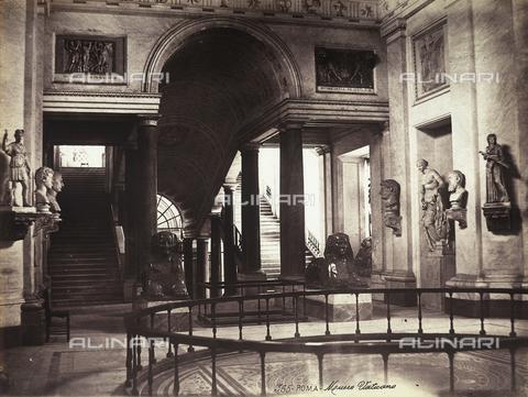 FVQ-F-158737-0000 - Musei Vaticani, particolare, Stato della Città del Vaticano, Roma - Data dello scatto: 1865 ca. - Raccolte Museali Fratelli Alinari (RMFA), Firenze