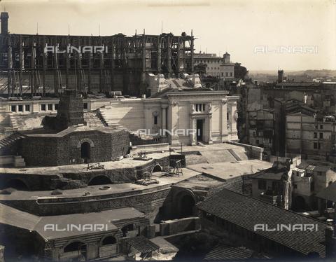 FVQ-F-158758-0000 - Altare della Patria under construction, Rome - Data dello scatto: 1905 ca. - Archivi Alinari, Firenze