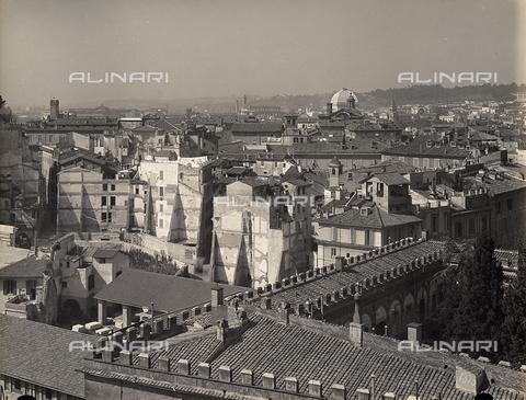 FVQ-F-158759-0000 - Veduta panoramica della città di Roma - Data dello scatto: 1915 ca. - Raccolte Museali Fratelli Alinari (RMFA), Firenze