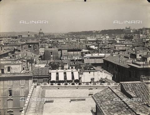 FVQ-F-158763-0000 - Veduta della città di Roma da Palazzo di Venezia - Data dello scatto: 1915 ca. - Archivi Alinari, Firenze