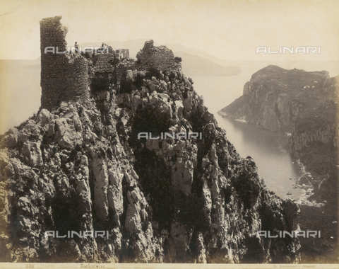 FVQ-F-159736-0000 - Barbarossa Castle, Capri - Date of photography: 1870-1880 - Fratelli Alinari Museum Collections, Florence