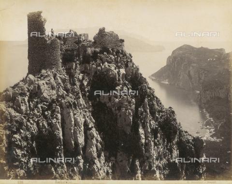 FVQ-F-159736-0000 - Barbarossa Castle, Capri - Data dello scatto: 1870-1880 - Archivi Alinari, Firenze