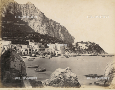 "FVQ-F-159738-0000 - ""Capri - Great Marina"" - Data dello scatto: 1870-1880 - Archivi Alinari, Firenze"