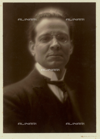 FVQ-F-166467-0000 - Portrait of the pedagogist and politician Giovanni Calò (1882-1970) - Date of photography: 1920 ca. - Fratelli Alinari Museum Collections, Florence