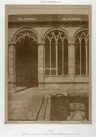 FVQ-F-178219-0000 - Cemetary of Pisa. Close-up - Data dello scatto: 1851 ca. - Archivi Alinari, Firenze