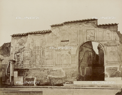 FVQ-F-179054-0000 - Stabian Baths, Pompeii - Date of photography: 1875-1888 - Fratelli Alinari Museum Collections, Florence