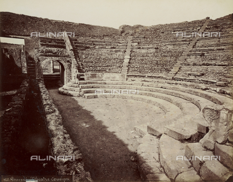 FVQ-F-179055-0000 - The Theatre of Music or Comedy, called Little Theatre, Pompeii - Date of photography: 1875-1888 - Fratelli Alinari Museum Collections, Florence