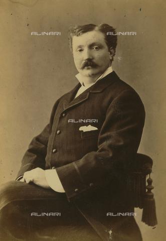 FVQ-F-190068-0000 - Portrait of an actor; the support contains the information: Ceresa - Data dello scatto: 1880 ca. - Archivi Alinari, Firenze