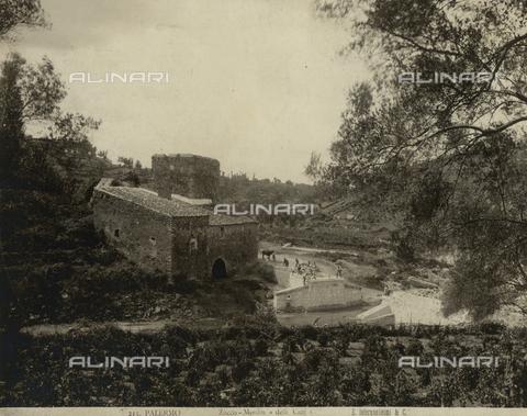 """FVQ-F-198744-0000 - Mill campaign """"delli Cuti"""", Palermo - Data dello scatto: 1885 ca. - Archivi Alinari, Firenze"""