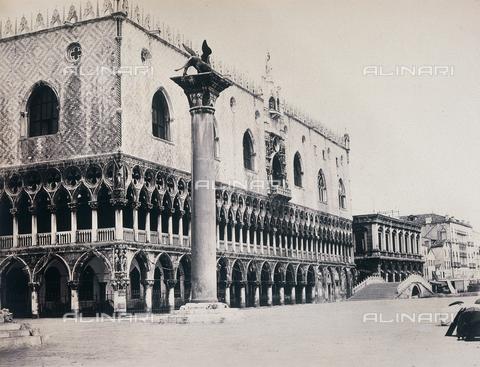 FVQ-F-206657-0000 - Palazzo Ducale, Venezia - Data dello scatto: 1855 ca. - Raccolte Museali Fratelli Alinari (RMFA), Firenze