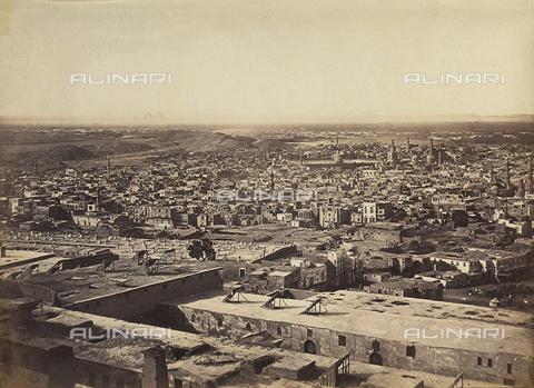 FVQ-F-206759-0000 - Panorama della città del Cairo in Egitto - Data dello scatto: 1870 - 1880 - Raccolte Museali Fratelli Alinari (RMFA), Firenze