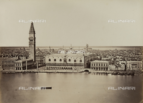FVQ-F-206894-0000 - Panorama di Venezia - Data dello scatto: 1860 ca. - Raccolte Museali Fratelli Alinari (RMFA), Firenze