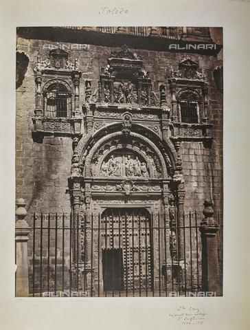 FVQ-F-208985-0000 - Il portale del Museo di Santa Cruz (ex-ospedale) a Toledo in Spagna - Data dello scatto: 1858-1862 - Raccolte Museali Fratelli Alinari (RMFA), Firenze