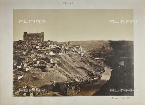 FVQ-F-208987-0000 - Panorama di Toledo in Spagna - Data dello scatto: 1857 - Raccolte Museali Fratelli Alinari (RMFA), Firenze