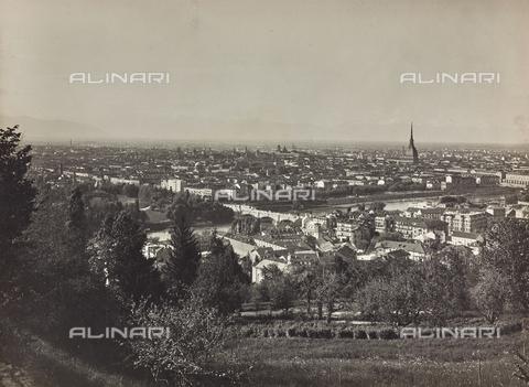 FVQ-F-209017-0000 - Veduta della città di Torino dalla collina di San Vito - Data dello scatto: 1930 ca. - Raccolte Museali Fratelli Alinari (RMFA), Firenze