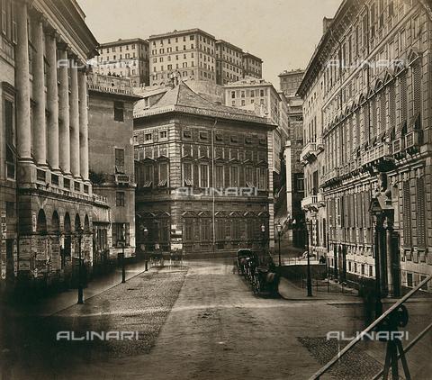 FVQ-F-212644-0000 - Piazza delle Fontane Marose a Genova - Data dello scatto: 1890 ca. - Raccolte Museali Fratelli Alinari (RMFA), Firenze
