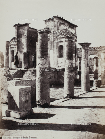 FVQ-F-217223-0000 - View of the Temple of Isis, Pompei - Data dello scatto: 1900 ca. - Archivi Alinari, Firenze