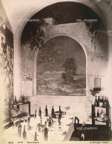 FVQ-F-225236-0000 - Hotel Pagano's restaurant, Capri - Data dello scatto: 1870-1880 - Archivi Alinari, Firenze