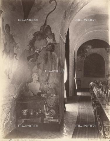 FVQ-F-225237-0000 - Hotel Pagano's restaurant, Capri - Data dello scatto: 1870-1880 - Archivi Alinari, Firenze