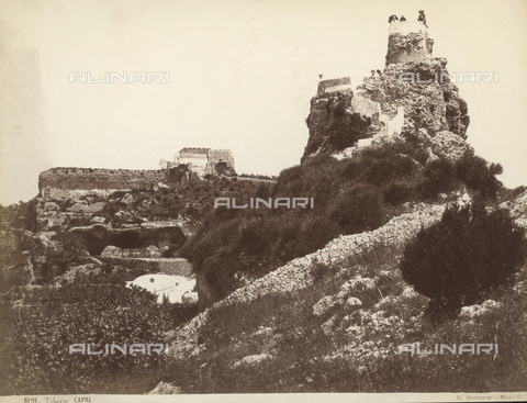 FVQ-F-225240-0000 - Remains of the villas of Emperor Tiberio in Capri - Data dello scatto: 1870-1880 - Archivi Alinari, Firenze