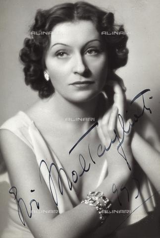 FVQ-F-P56682-0000 - Portrait of the actress Evi Maltagliati - Data dello scatto: 1957 - Archivi Alinari, Firenze