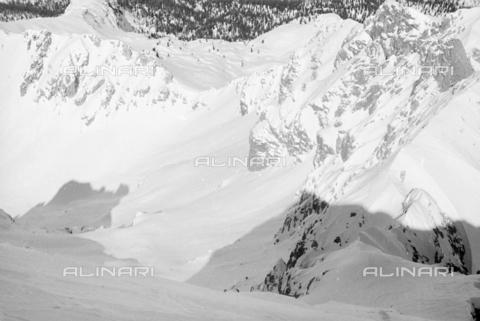 GBA-S-000178-0041 - Montagne innevate, Cortina d'Ampezzo - Data dello scatto: 06/02-27/02/1941 - Archivi Alinari, Firenze