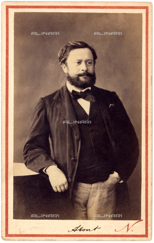 GBB-F-000405-0000 - 1870 ca, FRANCE: The french writer, publicist and journalist Edmond Franà§ois Valentin ABOUT (1828 - 1885). - © ARCHIVIO GBB / Archivi Alinari