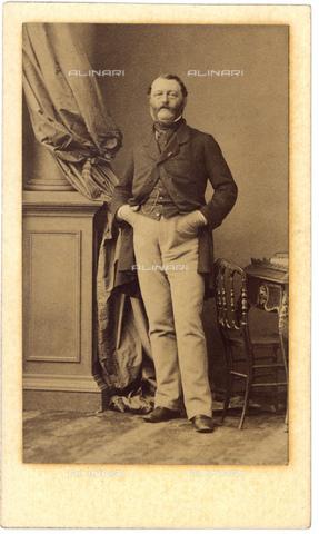 GBB-F-001117-0000 - 1870 ca, Paris, FRANCE : The french Marquis ARTHUR DE GUINAMAUT - © ARCHIVIO GBB / Archivi Alinari