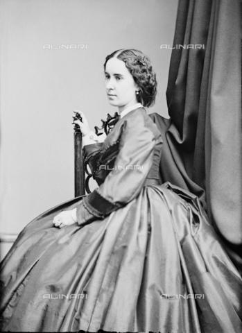 GBB-F-001643-0000 - 1865 ca, USA : The celebrated american opera Diva CLARA LOUISE KELLOGG (1842 - 1916). - © ARCHIVIO GBB / Archivi Alinari