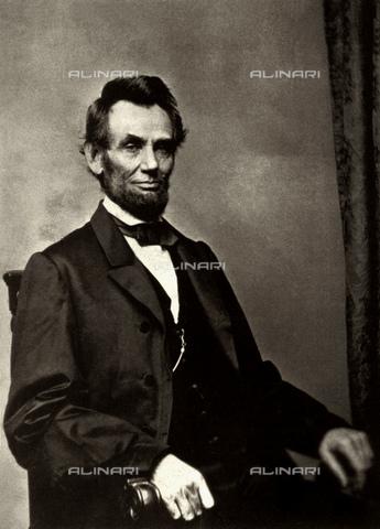 GBB-F-001857-0000 - 1864 : The U.S.A. President ABRAHAM LINCOLN (Big South Fork, KY, 1809 - Washington 1865). - © ARCHIVIO GBB / Archivi Alinari