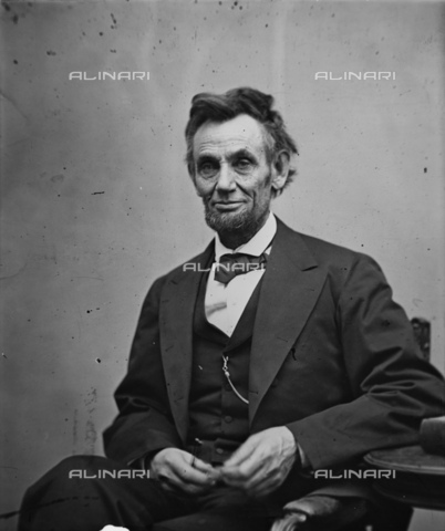 GBB-F-001859-0000 - 1864 : The U.S.A. President ABRAHAM LINCOLN (Big South Fork, KY, 1809 - Washington 1865). - © ARCHIVIO GBB / Archivi Alinari